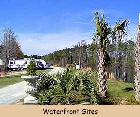 RVs ate Big Cypress Lake